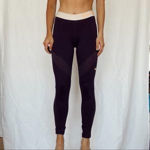 nike purple leggings !